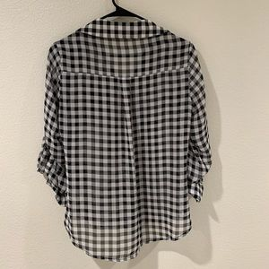 Express Tops - Portofino plaid shirt